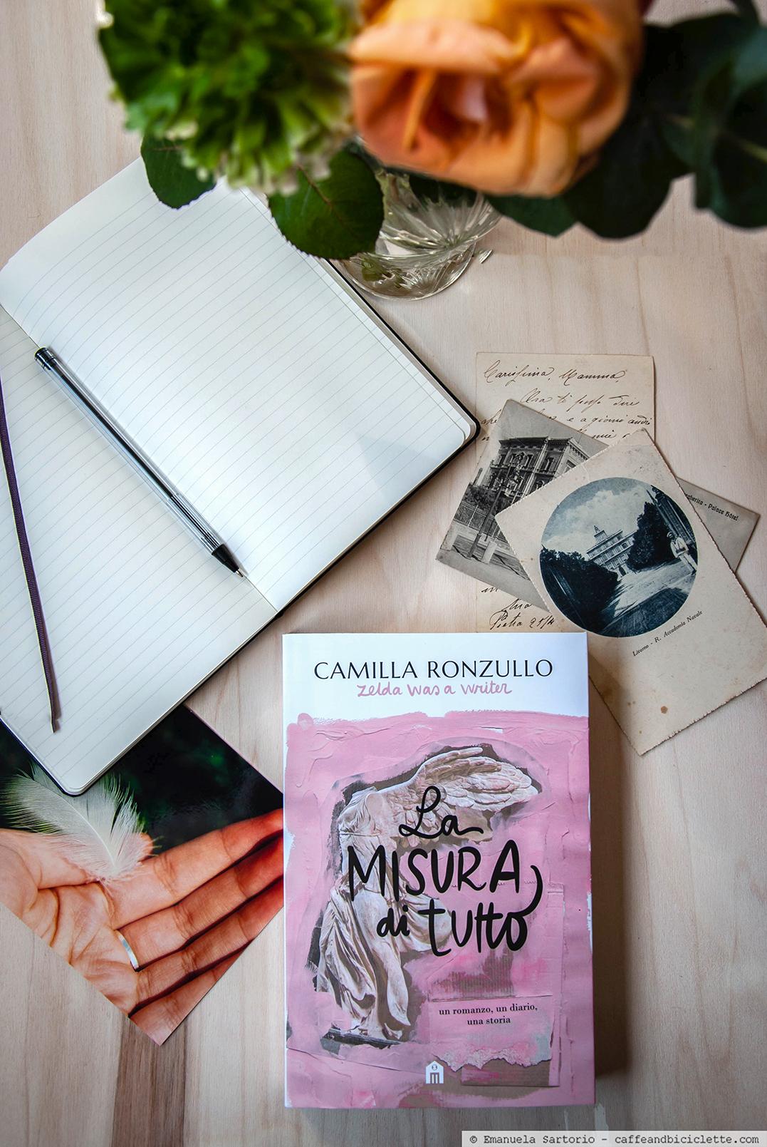La misura di tutto, romanzo di Camilla Ronzullo.